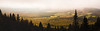 Lever de soleil au refuge du Pélerin - Mont St-Joseph