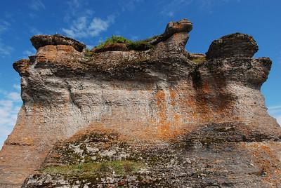 Château monolithe - Île Niapiskau, Parc national de l'Archipel de Mingan