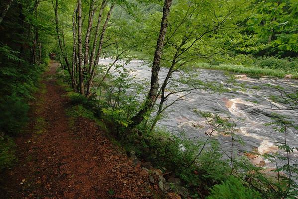 """Rivière Cheticamp - Sentier """"Trous de Saumons"""", Parc national des Hautes-Terres-du-Cap-Breton, Nouvelle-Écosse"""