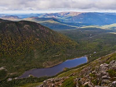 Lac aux Américains & mont Albert