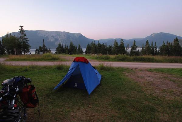 Camping Lomond - Parc national de Gros Morne - Terre-Neuve