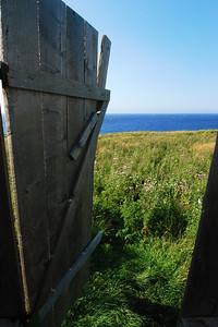 Vue de la bécosse sur le sentier Green Gardens - Parc national de Gros Morne, Terre-Neuve
