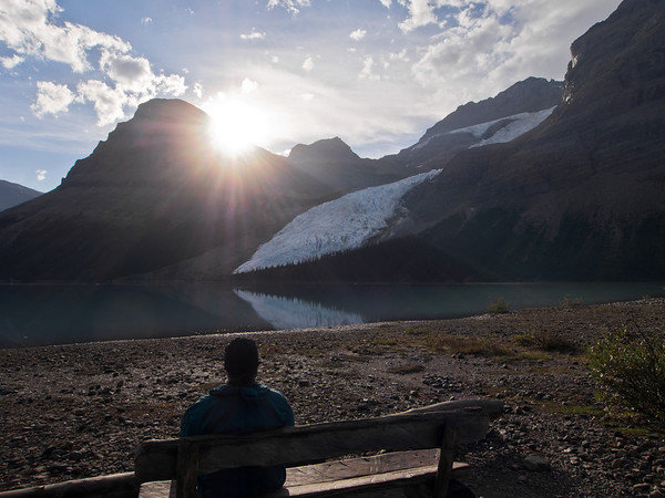 Marmot campsite - Berg Lake trail