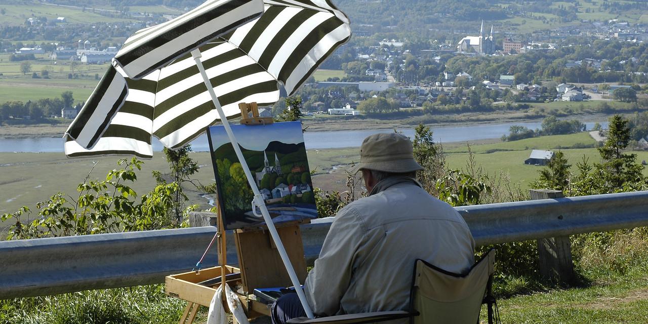 Peintre   - Baie-St-Paul