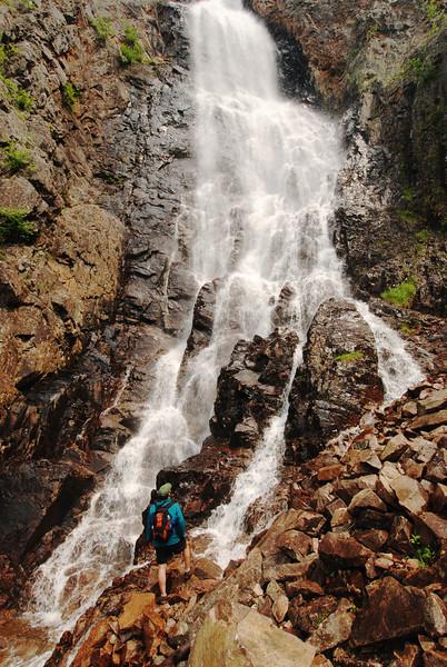 Chute du Ruisseau Blanc - Parc des Hautes Gorges de la Rivière Malbaie