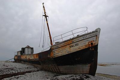 Naufrage du Calou - Île d'Anticosti, Québec