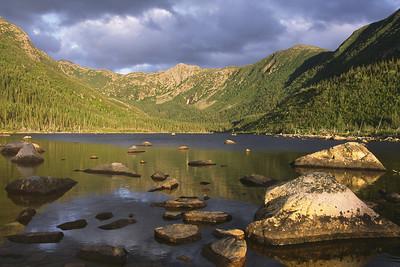 Lac aux Américains - Parc national de la Gaspésie, Québec
