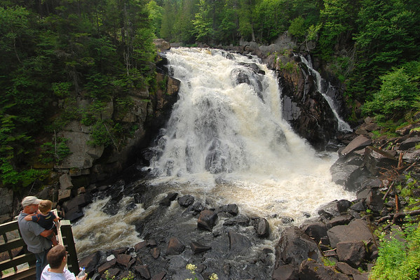 Chute du Diable - Parc national du Mont Temblant