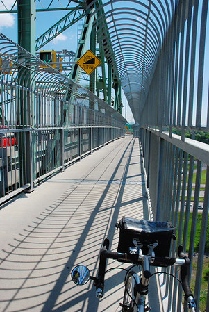 Piste cyclable du pont Jacques-Cartier
