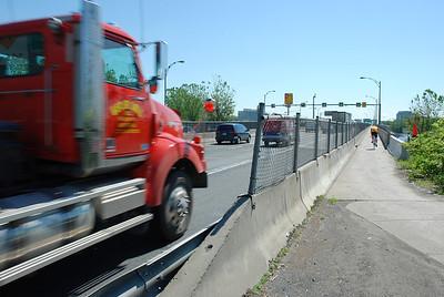 Piste cyclable du pont de l'île des Soeurs - Montréal