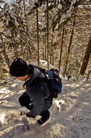 Sentier du Vaillant - Mont Wright