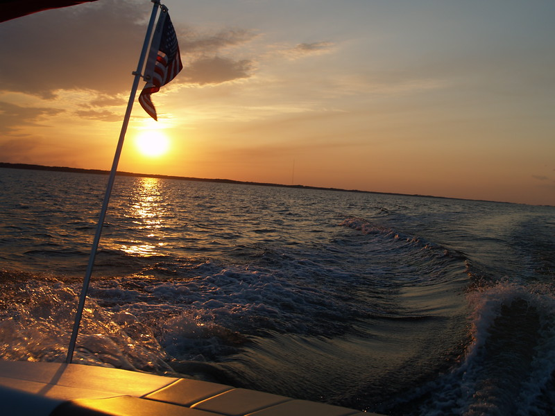 Sunset Boat Ride