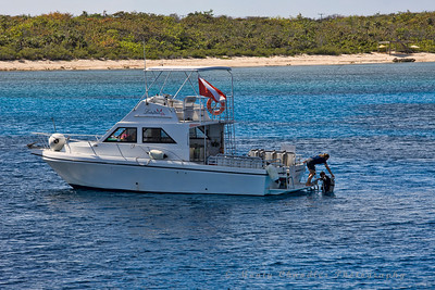 The Lucky Devil dive boat - Little Cayman