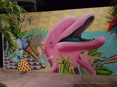 Wall Art in San Miguel, Cozumel