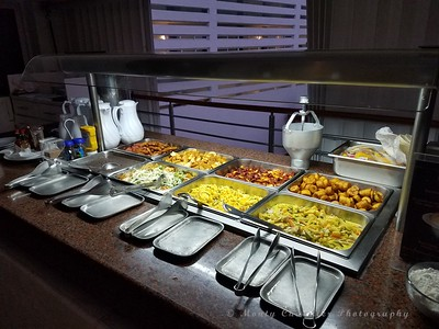 Breakfast buffet at Casa Mexicana