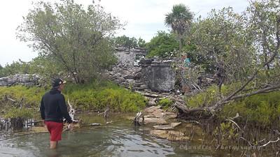 Exploring the Ruins within Laguna Ciega