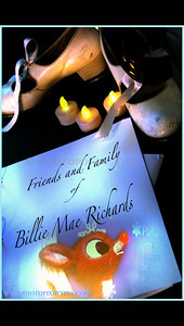 A Life Celebration gathering for Billie Mae Richards ... at the Performing Arts Lodge in Toronto ACTRA, Canadian Actors Equity, WWII Veteran, Meet the Navy, Voice of Rudolph the Red Nose Reindeer (Classic) http://www.msnbc.msn.com/id/21134540/vp/39239921#39239921  http://www.facebook.com/video/video.php?v=449409984900&ref=mf October 9, 2010