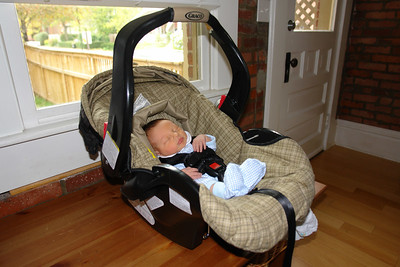 Nate at Home - First Month