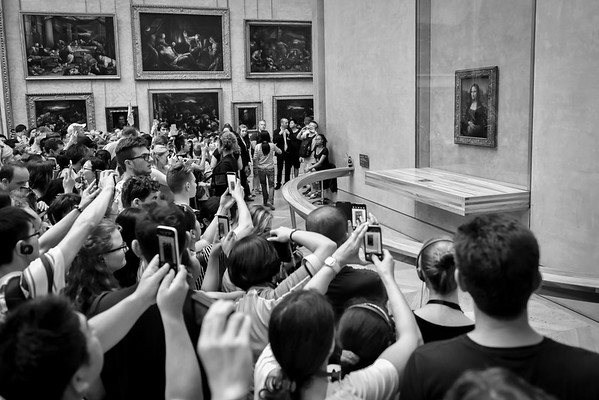 The Mona Lisa, The Louvre, Paris, France