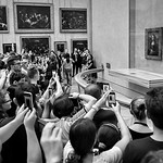 The Mona Lisa, The Louvre, Paris, France