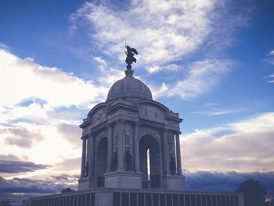 Pennsylvania Monument   2014   Gettysburg, PA