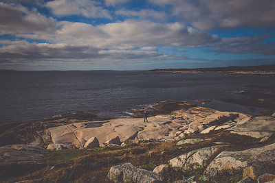 Carl // Peggy's Cove // Nova Scotia, Canada // October 2016
