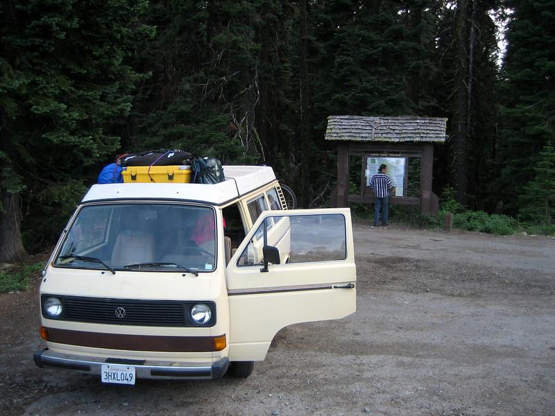 Carter Meadows Summit Trailhead