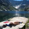 Sun-God at Sapphire Lake