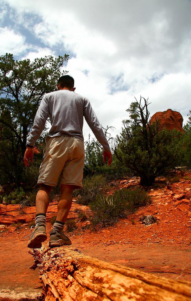 2007-May: Hiking in Sedona, Arizona