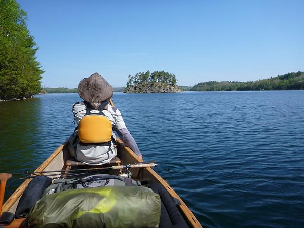2012-May: 4-day Canoe trip near Elliot Lake