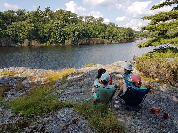 2017-Aug: Canoe-trip in Massasauga Provincial Park w JJIE