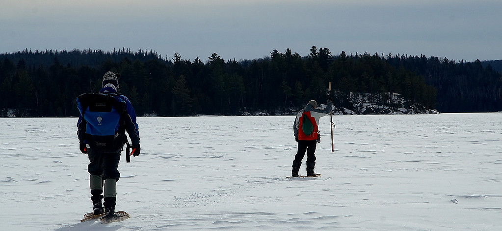 2007-Mar: Whitefish lake area (Algonquin Park)