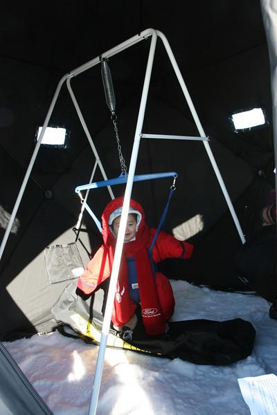 2010-Jan: Ice fishing