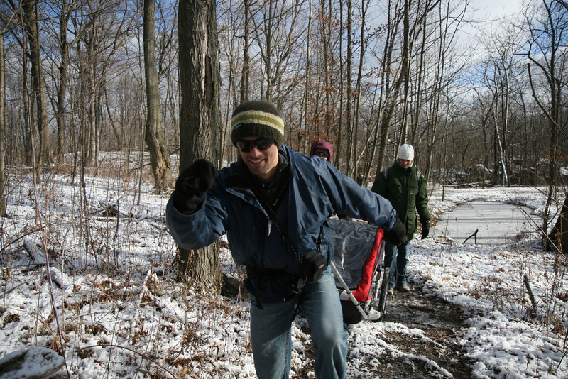 2011-Dec: Taking a stroll on the Bruce trail
