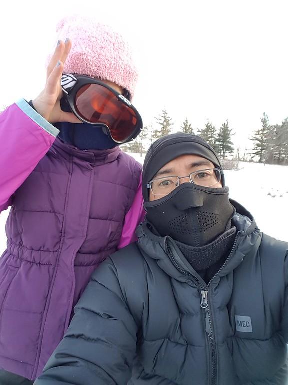 2018-Jan: Ski at Hilton Falls