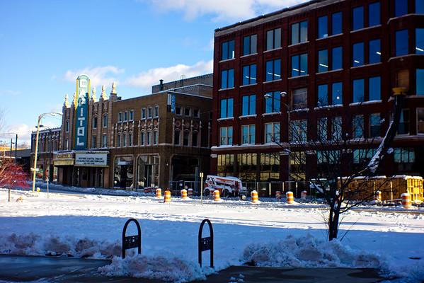 13 Winter in DownTown Flint