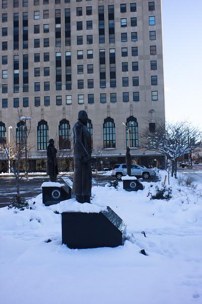 10 Winter in DownTown Flint