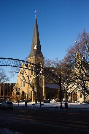 23 Winter in DownTown Flint