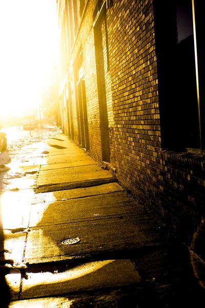26 Winter in DownTown Flint