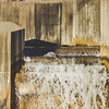 Afternoon Sunlight at Stepping Stone Falls in Flint Michigan Photograph 12