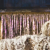 Afternoon Sunlight at Stepping Stone Falls in Flint Michigan Photograph 14