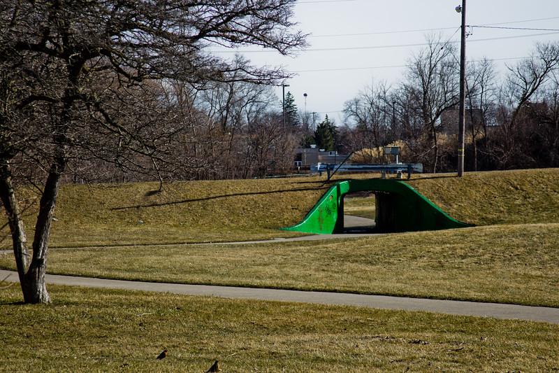 50 Sleeping Spring in Kearsley Park, Flint Michigan, USA
