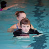 Liam Swimming Lesson with Michelle