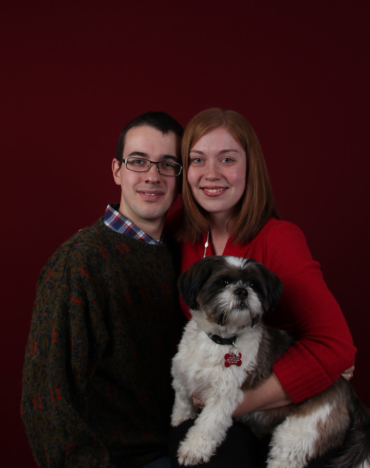 My oldest son Danny, my daugher-in-law, Emily and Lacy