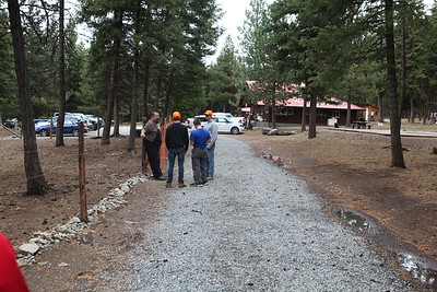Parents Weekend October 2017:  Exploring the ranch with the boys.