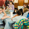 Students from the life-skills classroom at Samoset School visit with Mayor Dean Mazzarella and enjoy some pizza during a tour of City Hall as part of Autism Awareness Month on Wednesday, April 5, 2017. SENTINEL & ENTERPRISE / Ashley Green