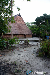 The Maloca or ancestral long house, used by indigenous people.