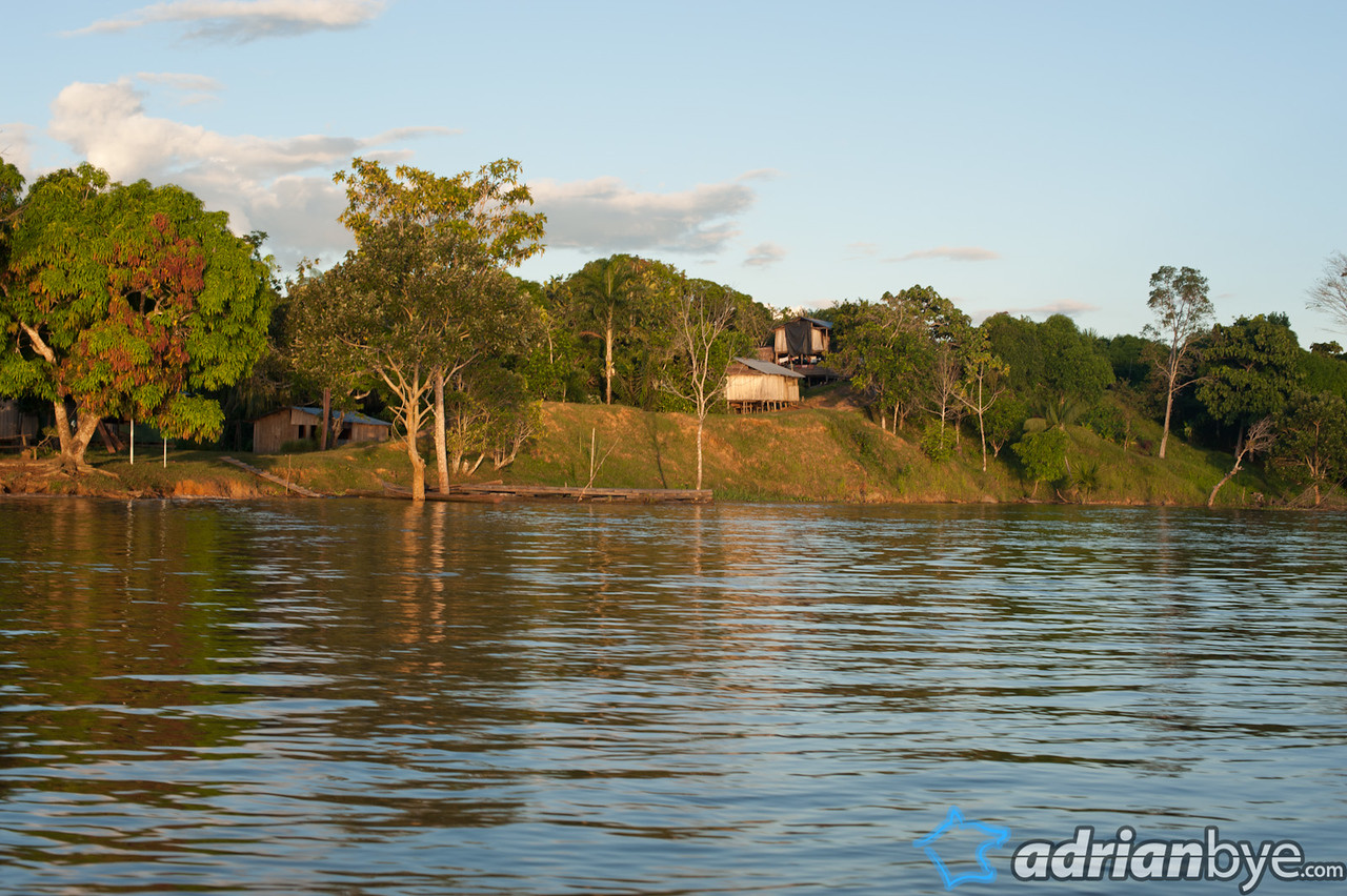 A final shot as we were leaving the amazon