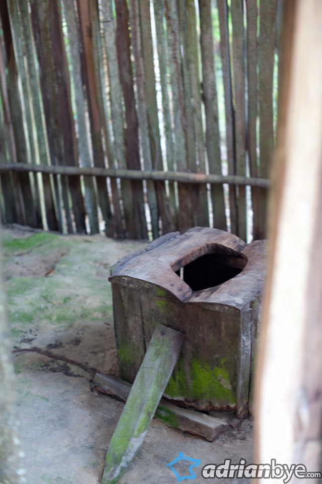 Indigenous bathroom