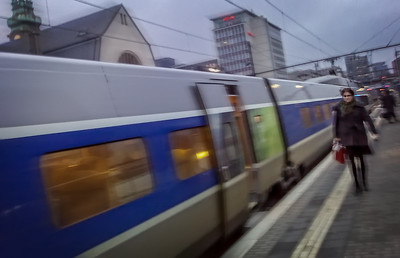 Luxembourg central station, Luxembourg